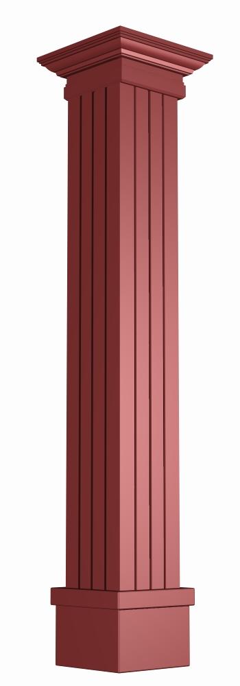 方柱子造型效果